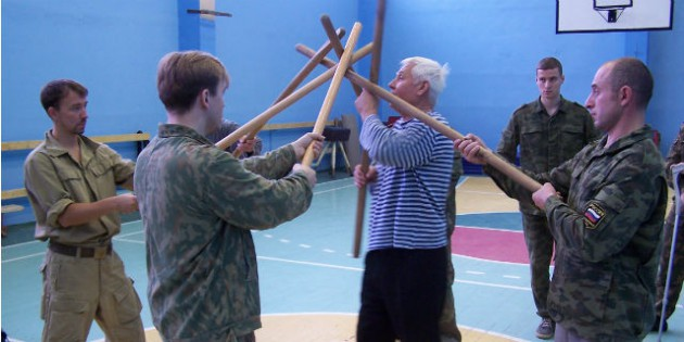 Viktor Nikolaevich Leonov and his Russian Martial Art