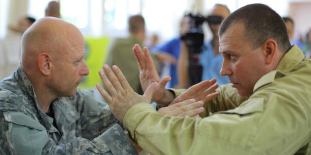 The Structure of the Military Hand-to-Hand Combat