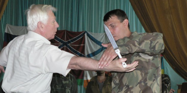 The Kadochnikov Systema: the Basics of Defence from Attack with an Edged Weapon