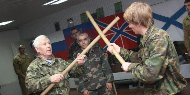 The Kadochnikov Systema: The Basics of Defence from Strikes with Rigid Objects