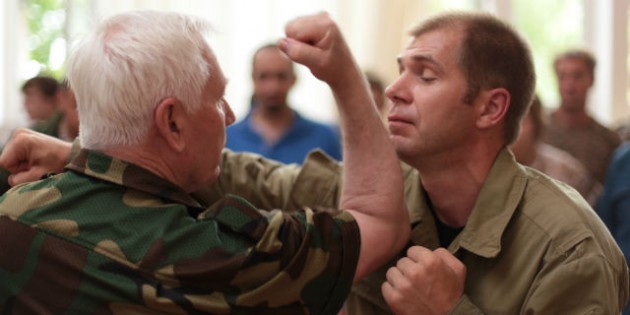 The Kadochnikov Systema: How to Use Angles in a Hand-to-Hand Fighting